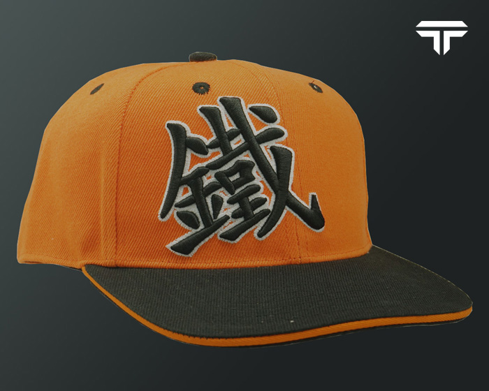 Caps Snapback - Orange Black