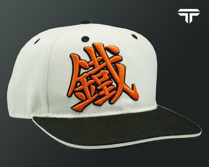 Caps Snapback - White Orange